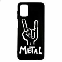 Чехол для Samsung M51 Metal