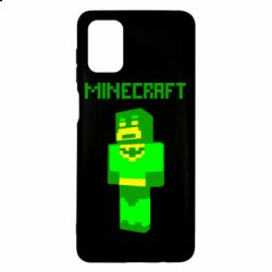 Чехол для Samsung M51 Minecraft Batman