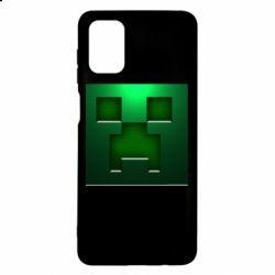 Чехол для Samsung M51 Minecraft Face