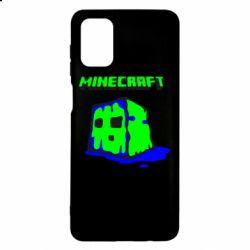 Чохол для Samsung M51 Minecraft Head