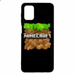 Чохол для Samsung M51 Minecraft Main Logo