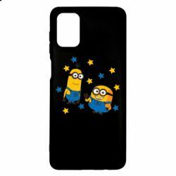 Чохол для Samsung M51 Minions and stars