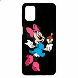 Чехол для Samsung M51 Minnie Mouse and Ice Cream