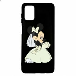 Чехол для Samsung M51 Minnie Mouse Bride