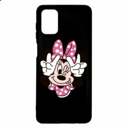 Чохол для Samsung M51 Minnie Mouse
