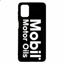 Чехол для Samsung M51 Mobil Motor Oils