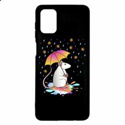 Чохол для Samsung M51 Mouse and rain