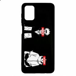 Чехол для Samsung M51 Naruto and Sasuke
