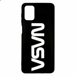 Чохол для Samsung M51 NASA logo