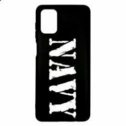 Чохол для Samsung M51 NAVY