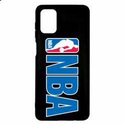 Чехол для Samsung M51 NBA Logo
