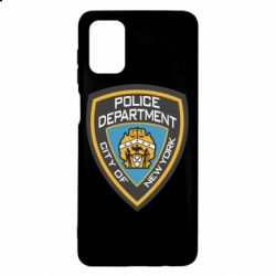 Чехол для Samsung M51 New York Police Department