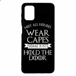 Чехол для Samsung M51 Not all heroes wear capes