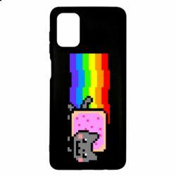 Чохол для Samsung M51 Nyan cat