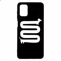Чехол для Samsung M51 оооочень длинная такса