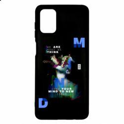 Чехол для Samsung M51 Open your mind to new ideas