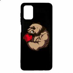 Чехол для Samsung M51 Panda Boxing