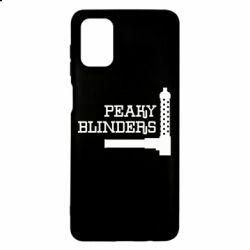 Чохол для Samsung M51 Peaky Blinders and weapon