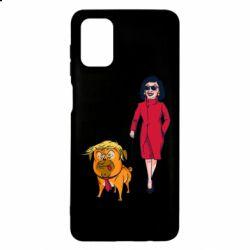Чехол для Samsung M51 Pelosi and Trump