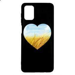 Чохол для Samsung M51 Пейзаж України в серце