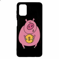 Чохол для Samsung M51 Pig and $