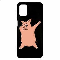Чохол для Samsung M51 Pig dab