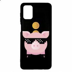 Чохол для Samsung M51 Piggy bank