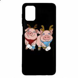 Чохол для Samsung M51 Pigs