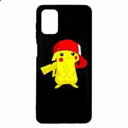 Чехол для Samsung M51 Pikachu in a cap