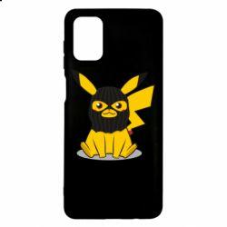 Чохол для Samsung M51 Pikachu in balaclava