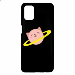 Чехол для Samsung M51 Planet Cat