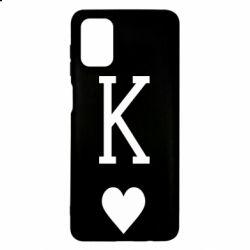 Чохол для Samsung M51 Playing Cards King