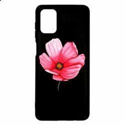 Чехол для Samsung M51 Poppy flower