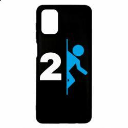 Чехол для Samsung M51 Portal 2 logo
