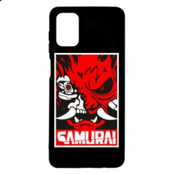 Чохол для Samsung M51 Poster samurai Cyberpunk