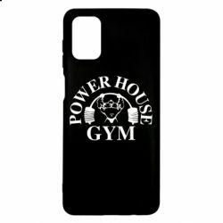Чехол для Samsung M51 Power House Gym