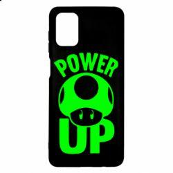 Чехол для Samsung M51 Power Up гриб Марио
