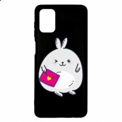 Чохол для Samsung M51 Rabbit with a letter