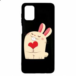 Чехол для Samsung M51 Rabbit with heart