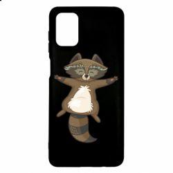 Чохол для Samsung M51 Raccoon