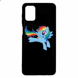 Чохол для Samsung M51 Rainbow Dash run