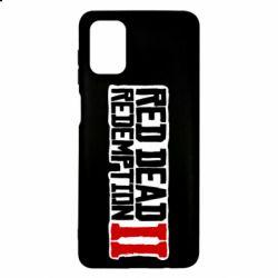 Чохол для Samsung M51 Red Dead Redemption logo