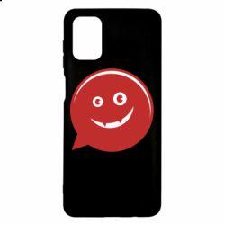 Чехол для Samsung M51 Red smile