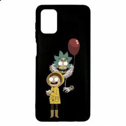 Чехол для Samsung M51 Rick and Morty: It 2