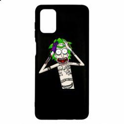Чохол для Samsung M51 Рік і Морті образ Джокера