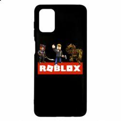 Чехол для Samsung M51 Roblox Heroes