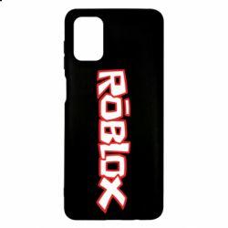 Чехол для Samsung M51 Roblox logo