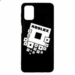 Чехол для Samsung M51 Roblox logos