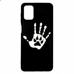Чехол для Samsung M51 Рука волка