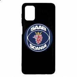 Чехол для Samsung M51 SAAB Scania
